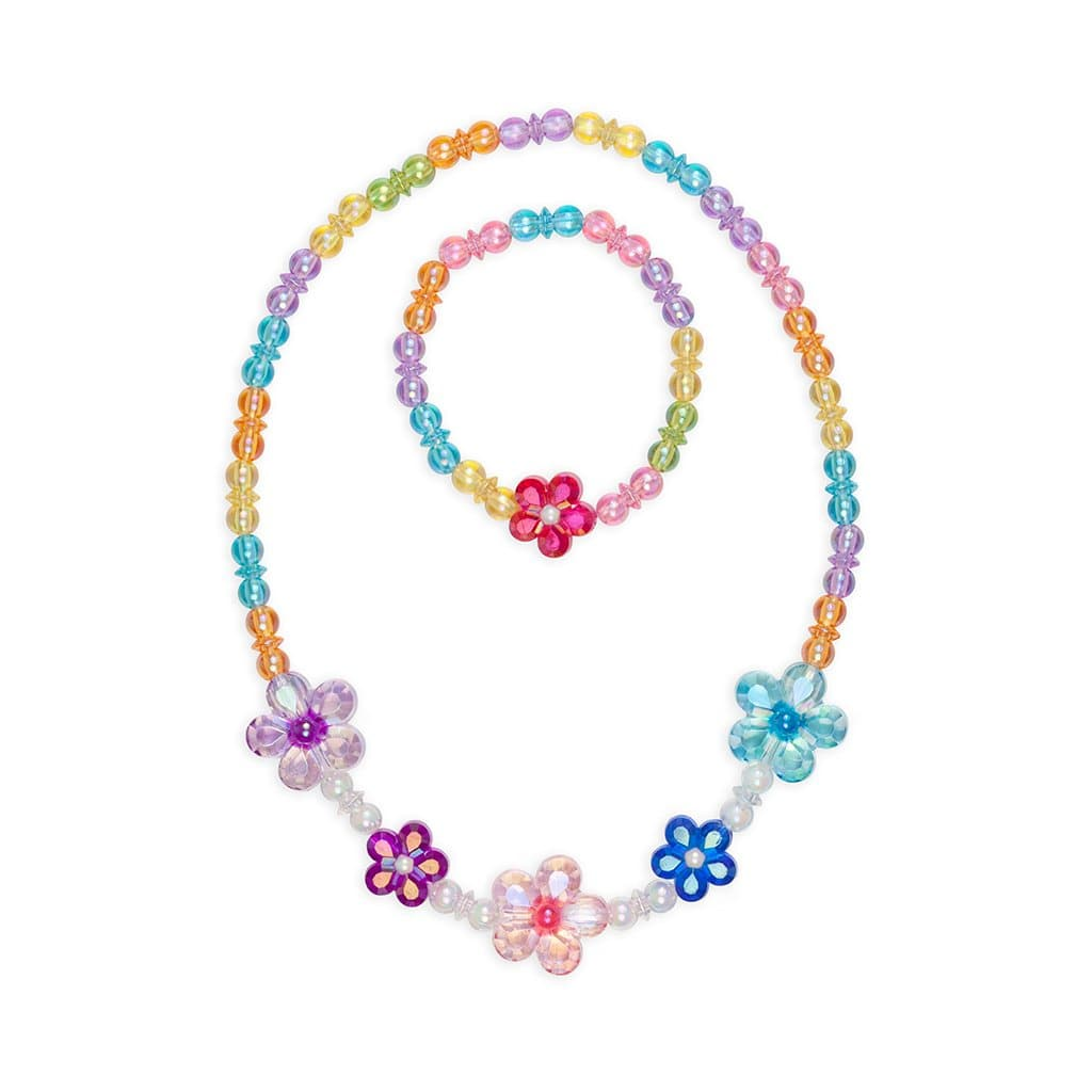 Great Pretenders Blooming Beads Necklace & Bracelet Set - Legacy Toys