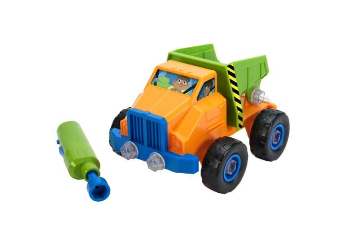Educational Insights Design & Drill Power Play Vehicles Dump Truck - Legacy Toys