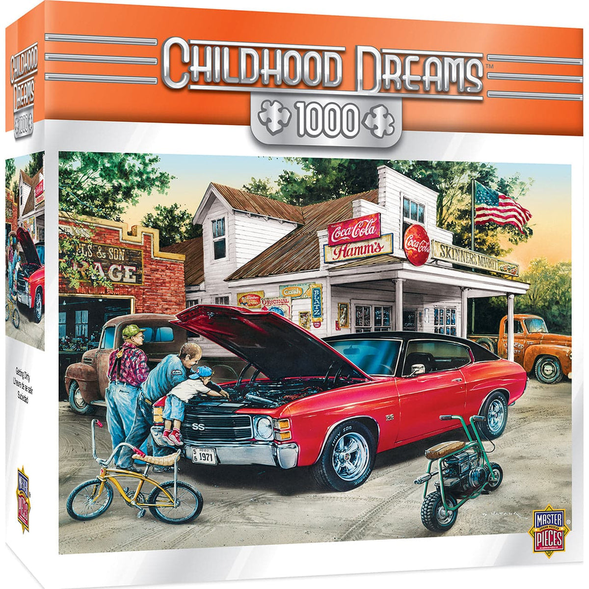 Childhood Dreams - Getting Dirty - 1,000 Piece Puzzle