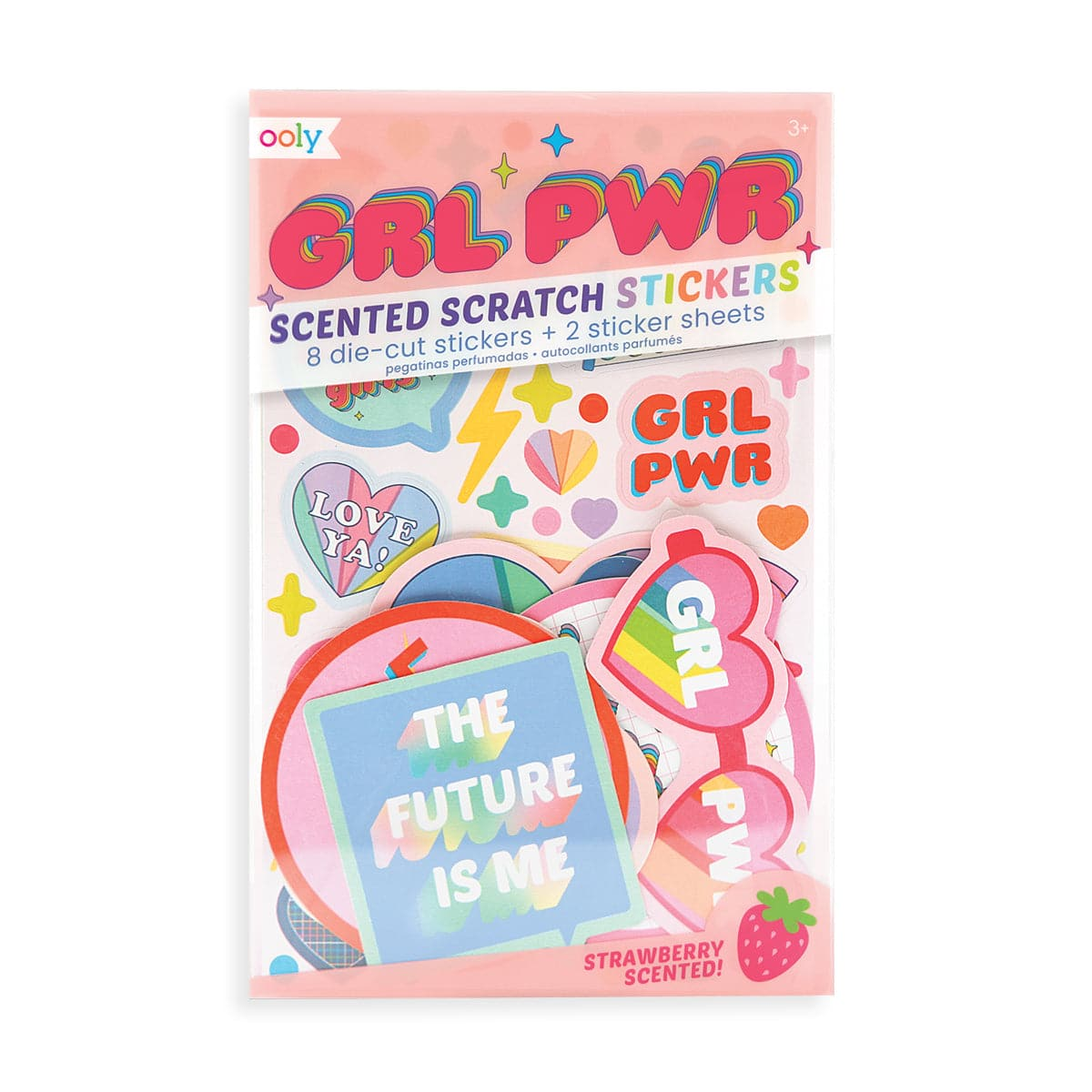 Grl Pwr Scented Stickers