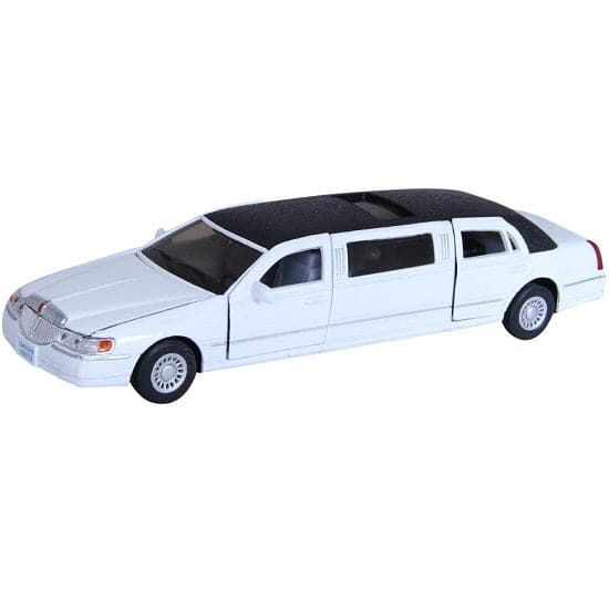 "7"" Diecast 1999 Lincoln Stretch Limo"