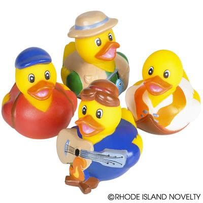 "2"" Camping Rubber Duckies"
