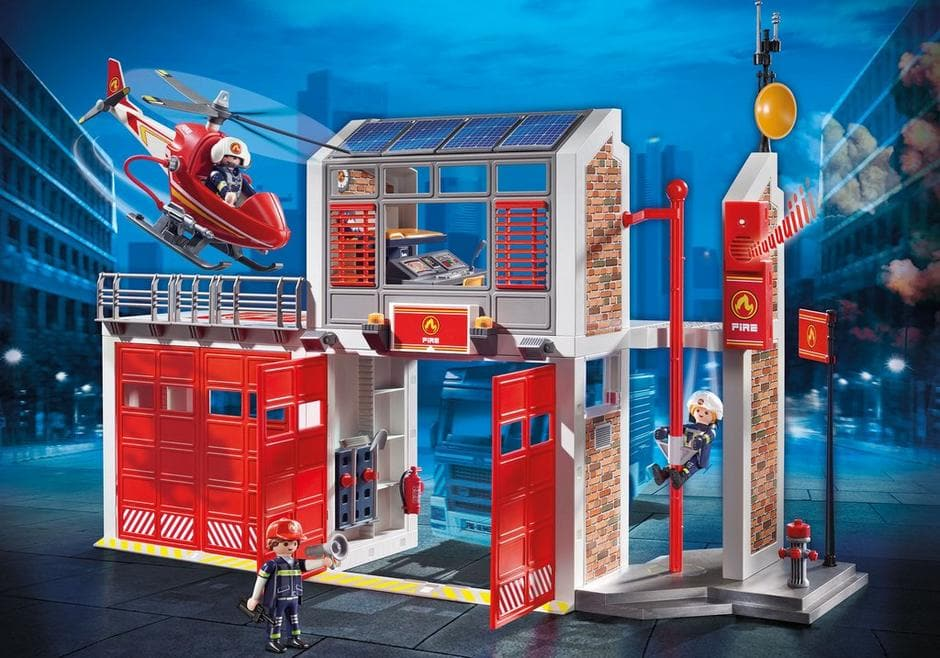 Fire Station - Legacy Toys