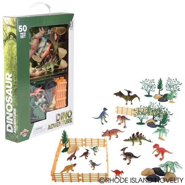 50 Piece Dinosaur Box Set