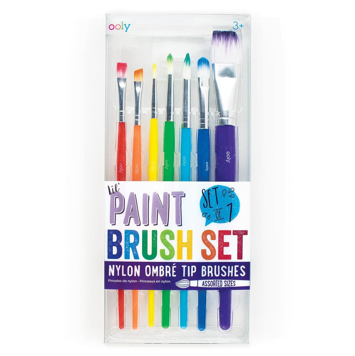 Lil' Paint Brushes - Set of 7