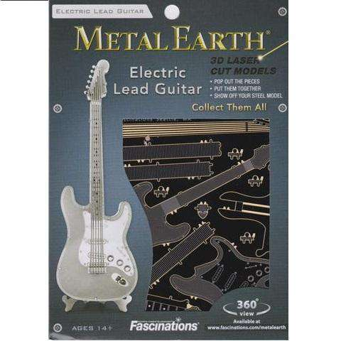 Fascinations Metal Earth - Instruments - Lead Guitar - Legacy Toys