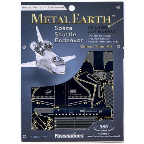 Metal Earth - Aviation - Space Shuttle Endeavor
