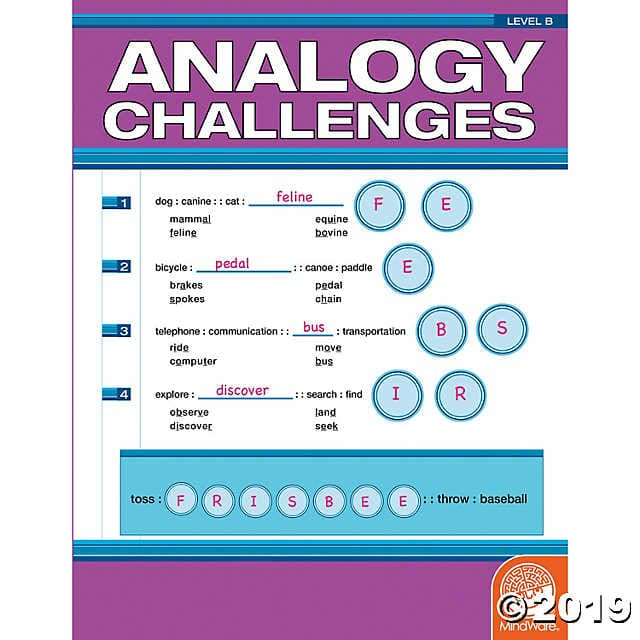 Analogy Challenges - Level B