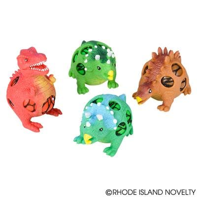 "The Toy Network 4"" Squish Mesh Dinosaur - Legacy Toys"