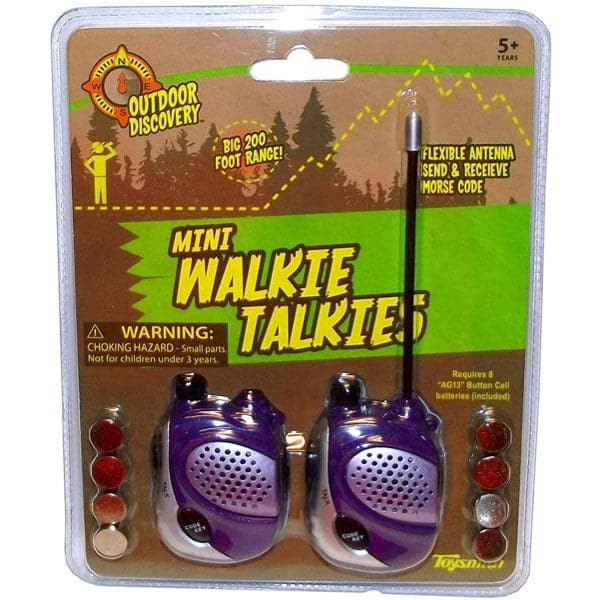 Outdoor Discovery - Mini Walkie Talkies