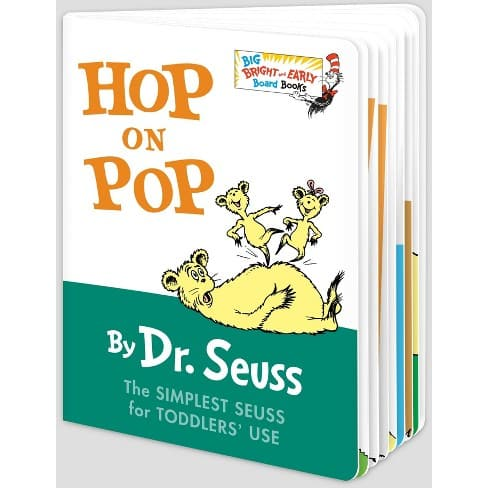 Dr. Seuss Hop On Pop - Big Bright and Early Board Book