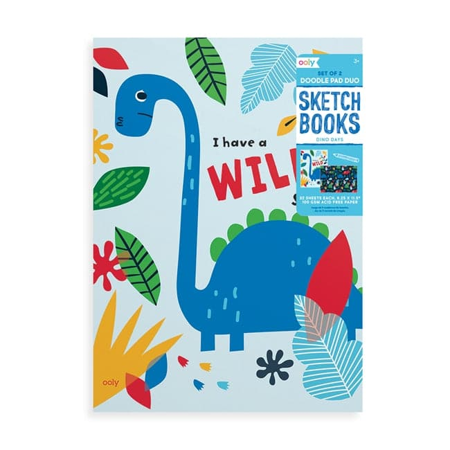 Doodle Pad Duo Sketchbooks - Dino Days Set of 2