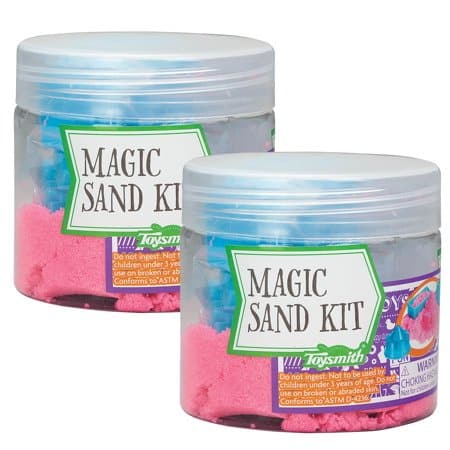 Mini Magic Sand with Molds