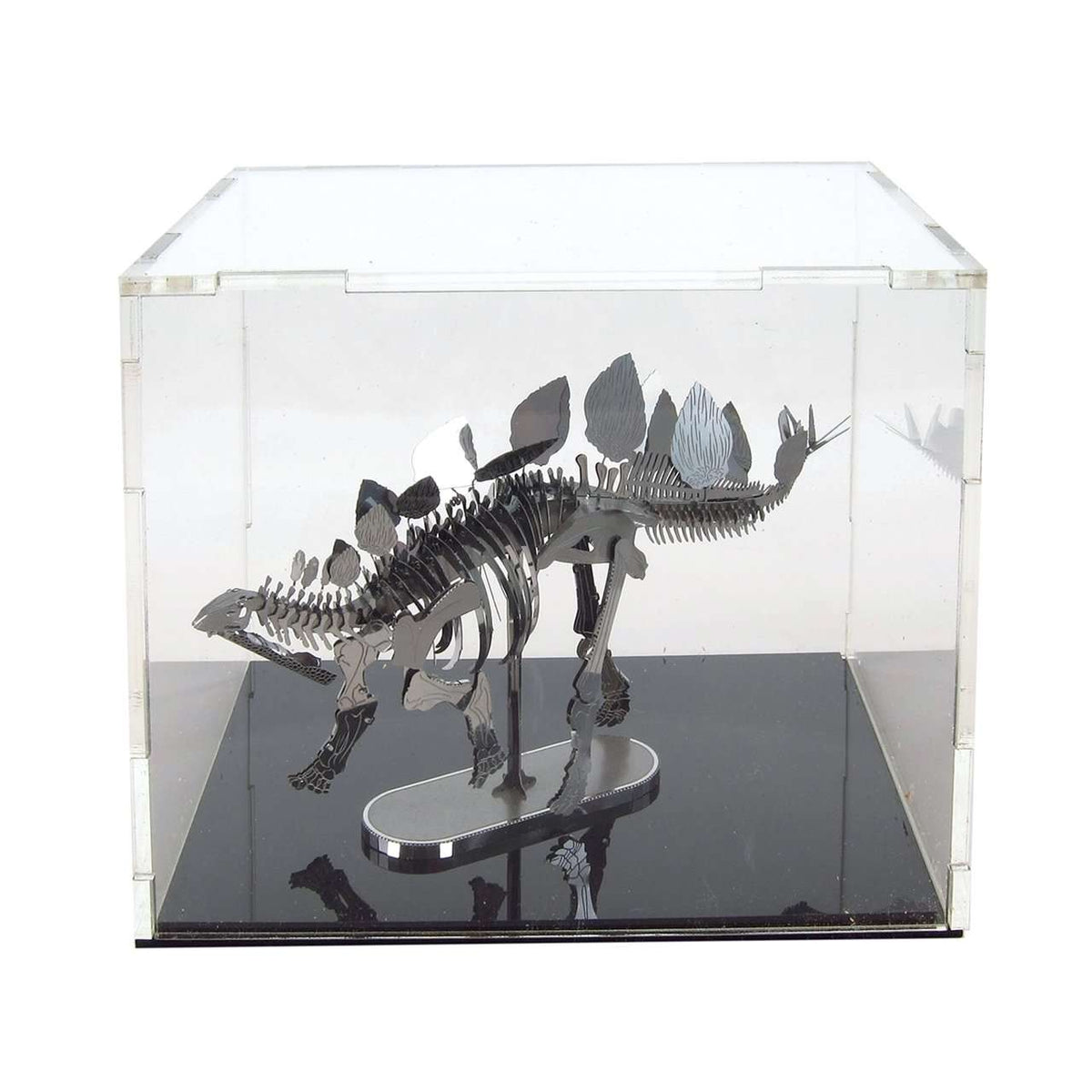 "Fascinations Acrylic Metal Earth Display Cube 4"" x 5"" x 4"" - Legacy Toys"