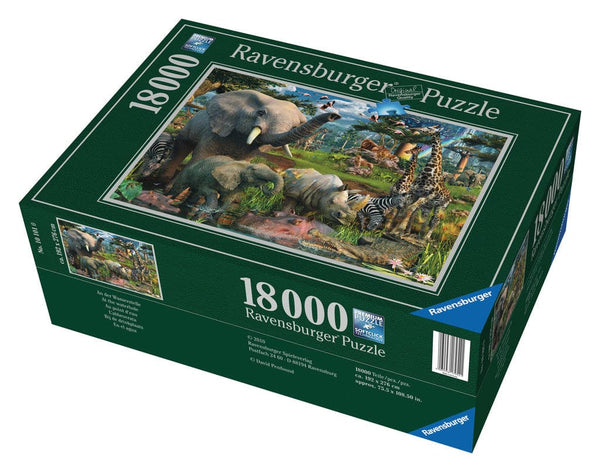 At the Waterhole - 18000 Piece Puzzle