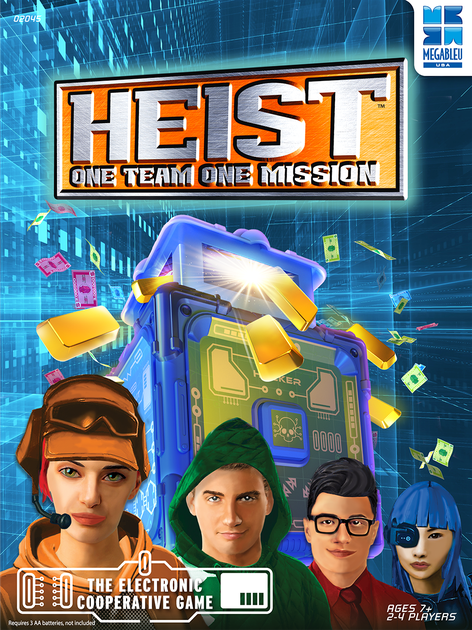University Games Heist! Game - Legacy Toys