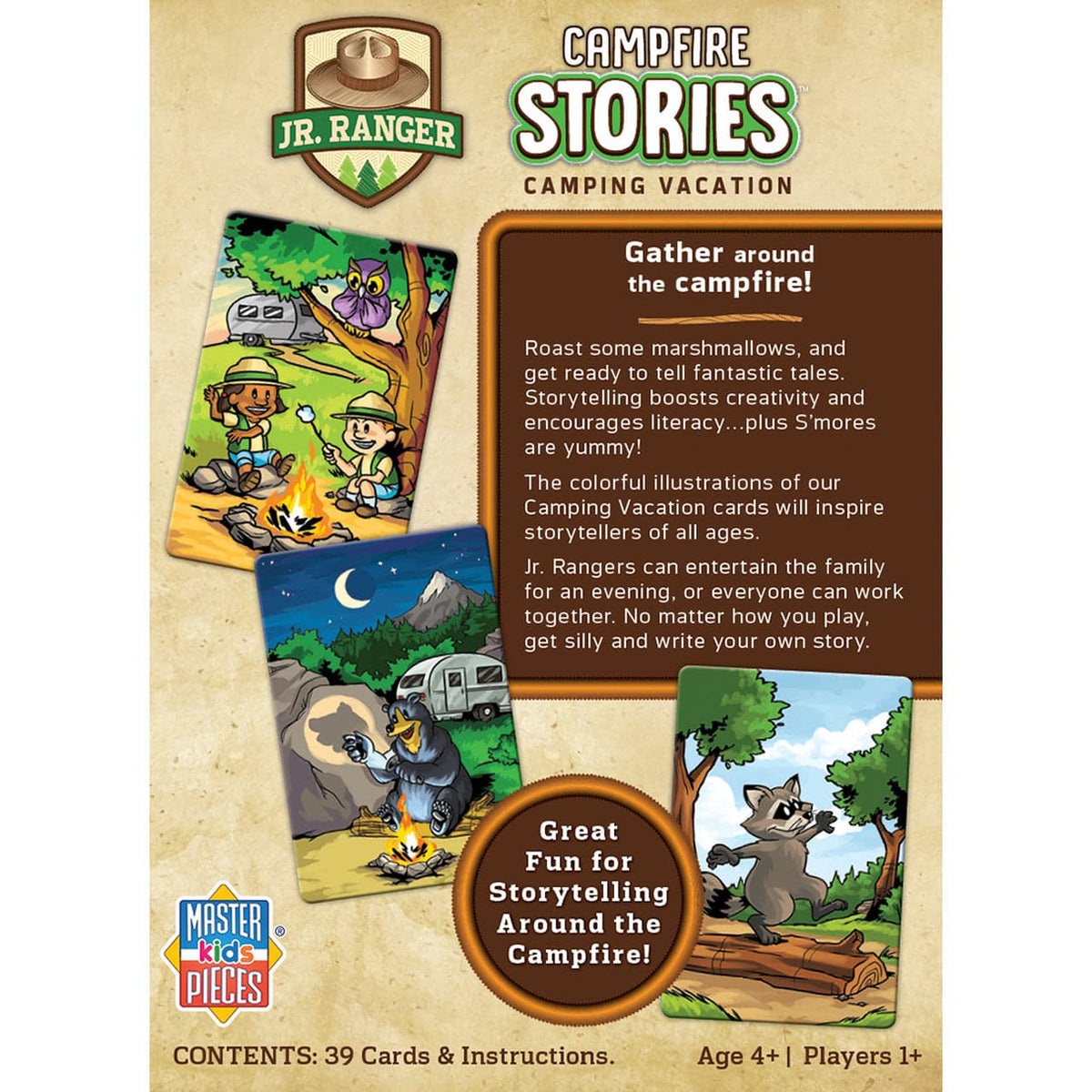 Jr. Ranger Campfire Stories Game