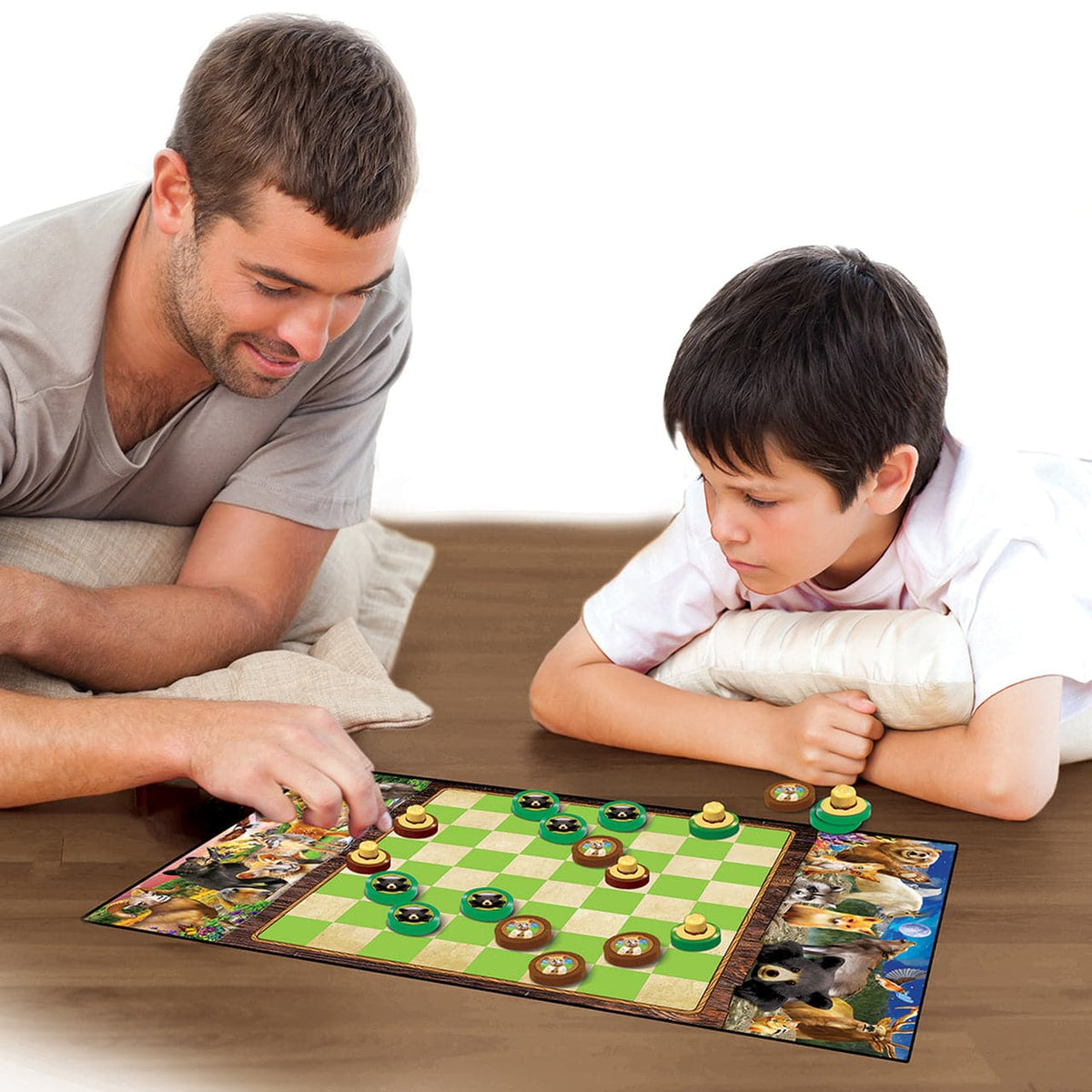 Masterpieces National Parks Checkers Board Game - Legacy Toys