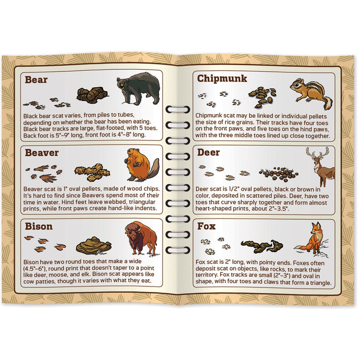 National Parks Poop Tracks Game