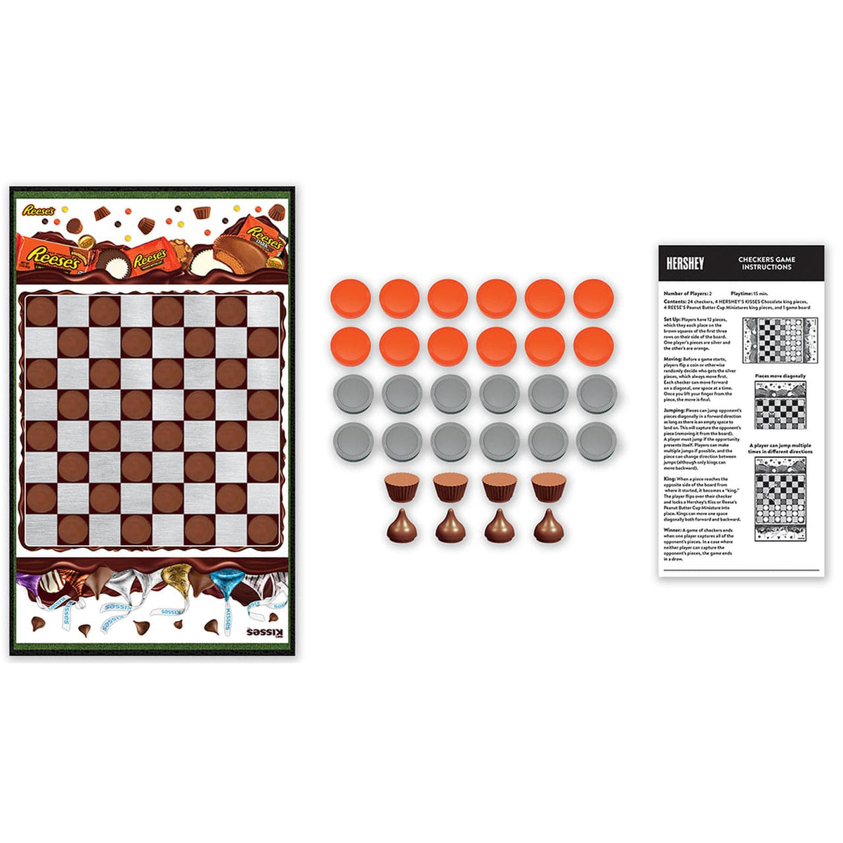 Hershey Checkers Board Game