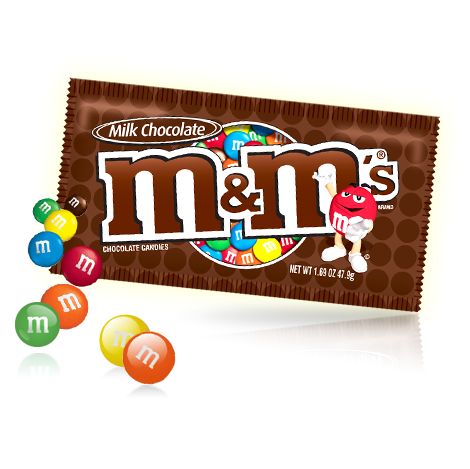 M&M's Milk Chocolate 1.74 oz. Bag