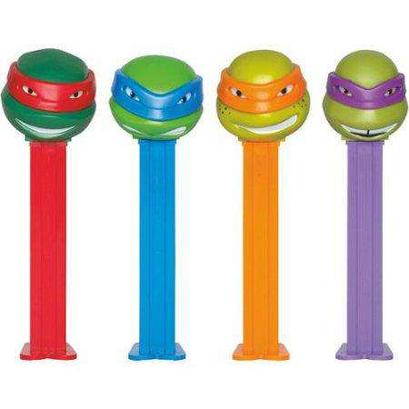 Pez Assortment - Teenage Mutant Ninja Turtles