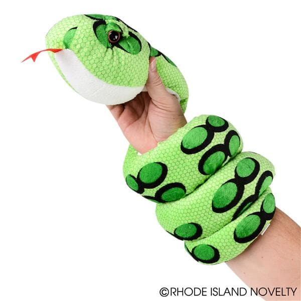 "67"" Neon Palm Viper Snake Plush Assorted Colors - Legacy Toys"