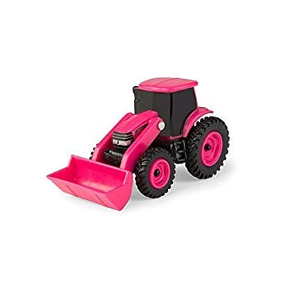 Collect 'N Play - 1:64 Case Ih Pink Tractor With Loader