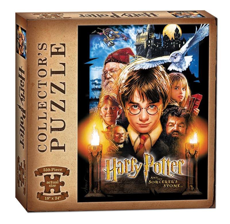 USAopoly Harry Potter and the Sorcerer's Stone Puzzle - 550 Piece Puzzle - Legacy Toys