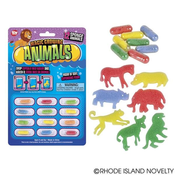 Magic Growing Animal Capsules
