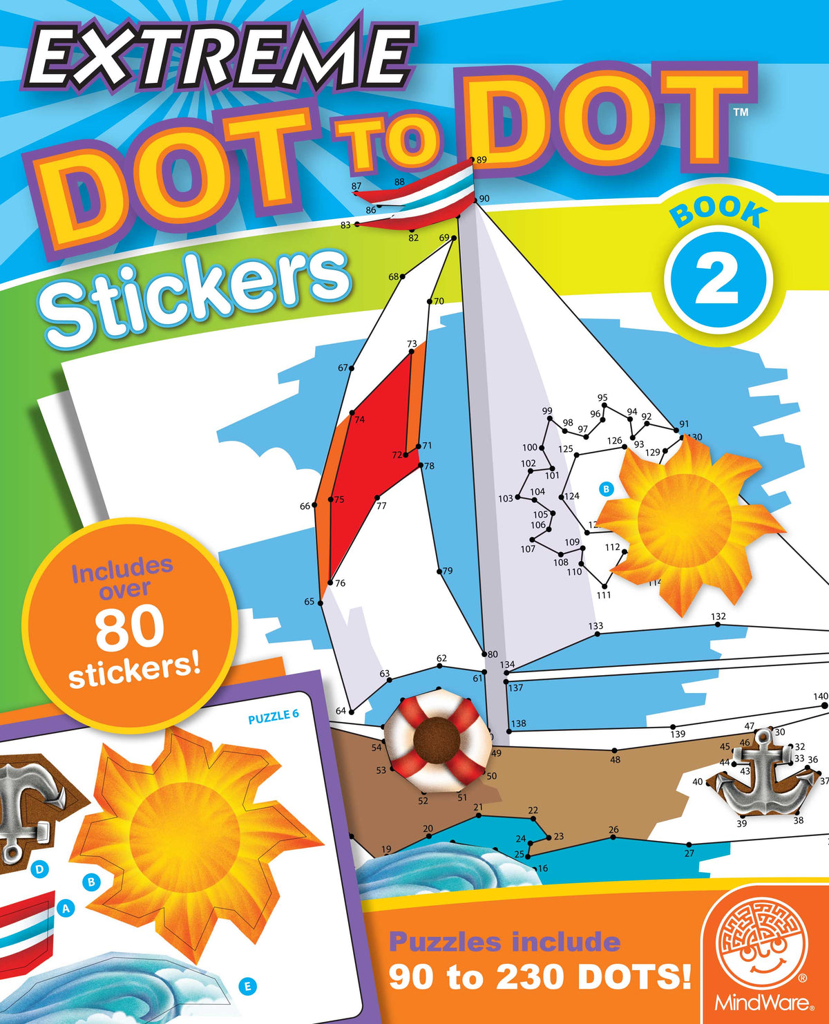 Extreme Dot to Dot - Stickers Book 2