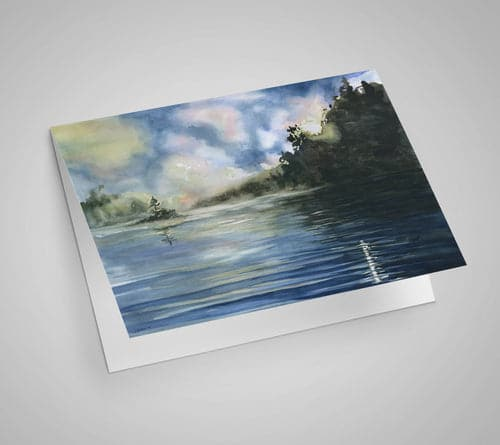 Pickerel Lake Notecard