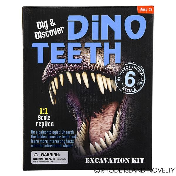 Dinosaur Teeth Excavation Kit