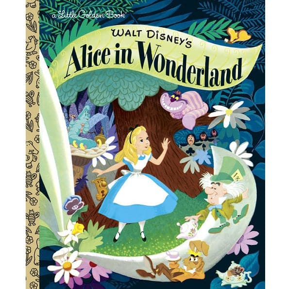 Alice In Wonderland - A Little Golden Book