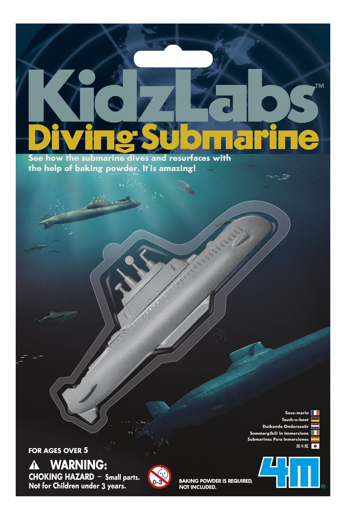 Kidz Labs Diving Submarine