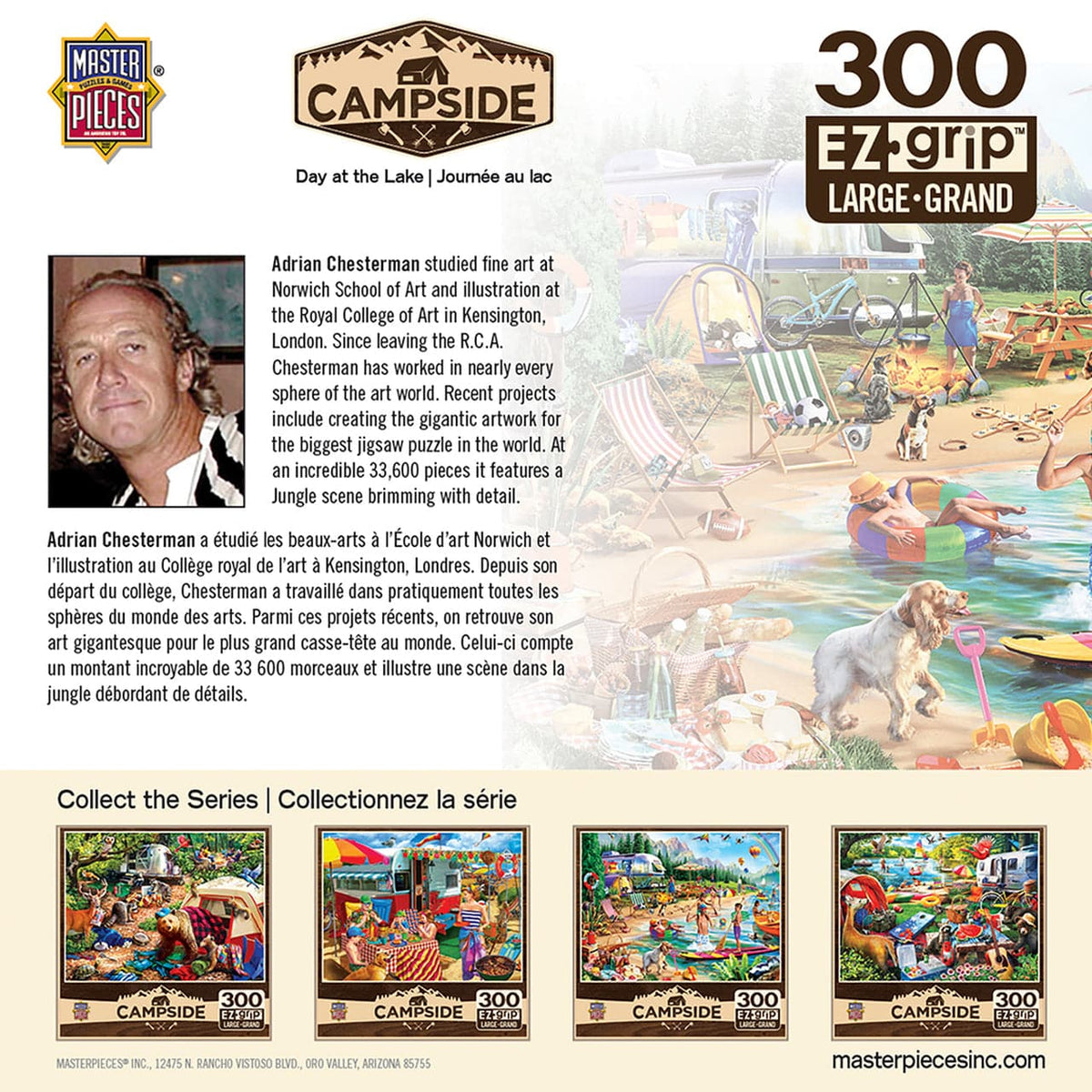 Campside - Day at the Lake - 300 Piece Puzzle