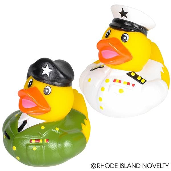 "The Toy Network 2"" Armed Forces Rubber Duckies - Legacy Toys"