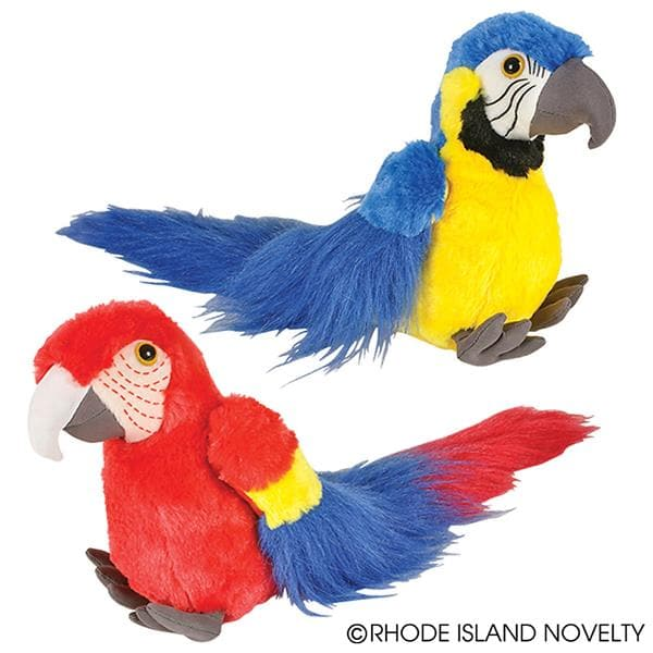 "8"" Animal Den Macaw Assorted Colors"