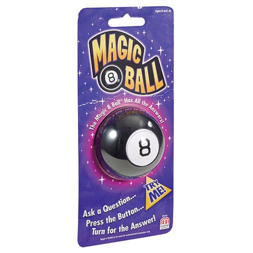 Mini Magic 8 Ball Checklane