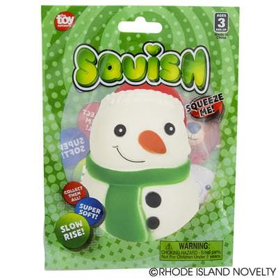 "The Toy Network 4"" Squishy Holiday - Snowman - Legacy Toys"