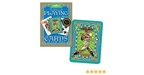 Baseball Traditional 52 Playing Cards