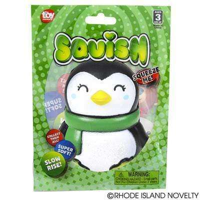 "Adventure Planet 4"" Squishy Holiday - Penguin - Legacy Toys"