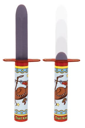 Kid's Trail Knife Trick Tin Toy