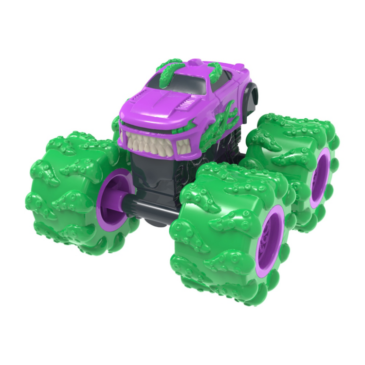 Tomy Real Monster Treads Vehicle with Sludge - Assorted Styles - Legacy Toys
