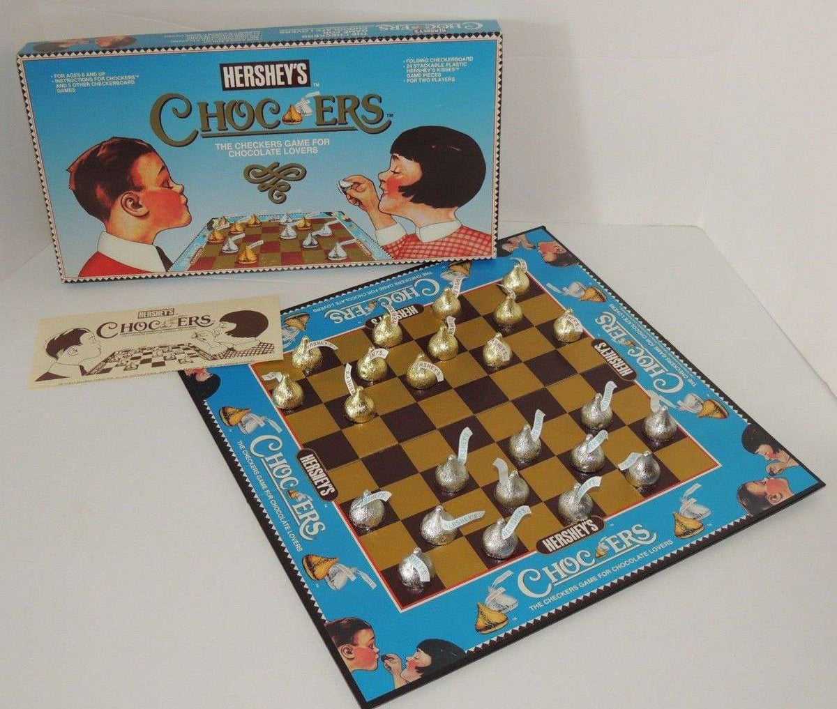 Masterpieces Hershey Checkers Board Game - Legacy Toys