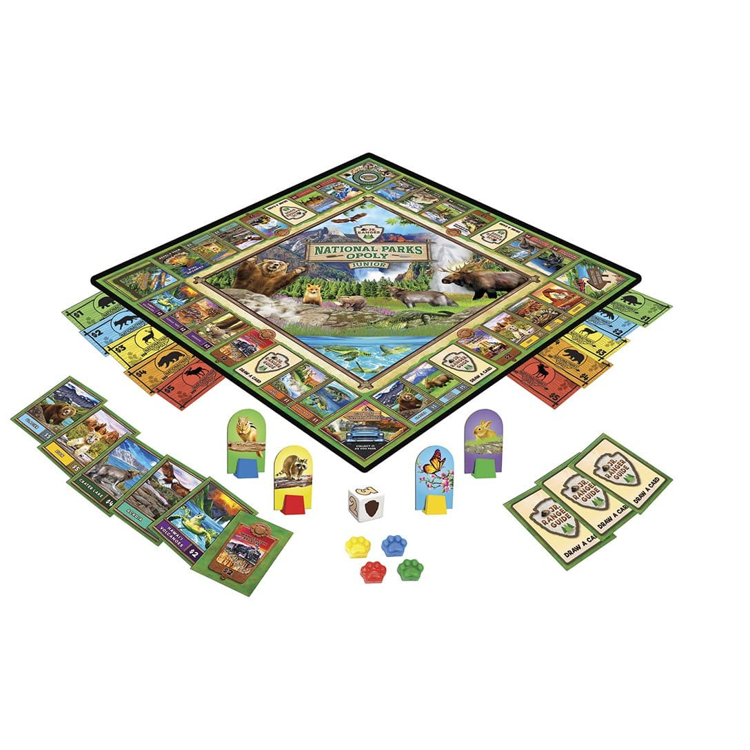National Parks Opoly Junior Board Game - Legacy Toys