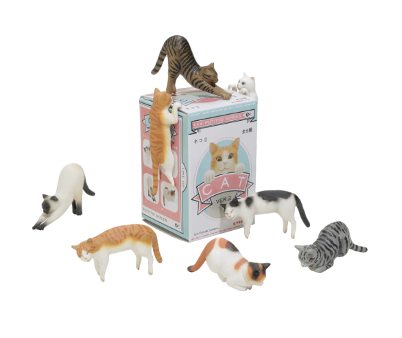 Kitan Club - Putitto Cat Blind Box Series 2 - Assorted Styles - Legacy Toys