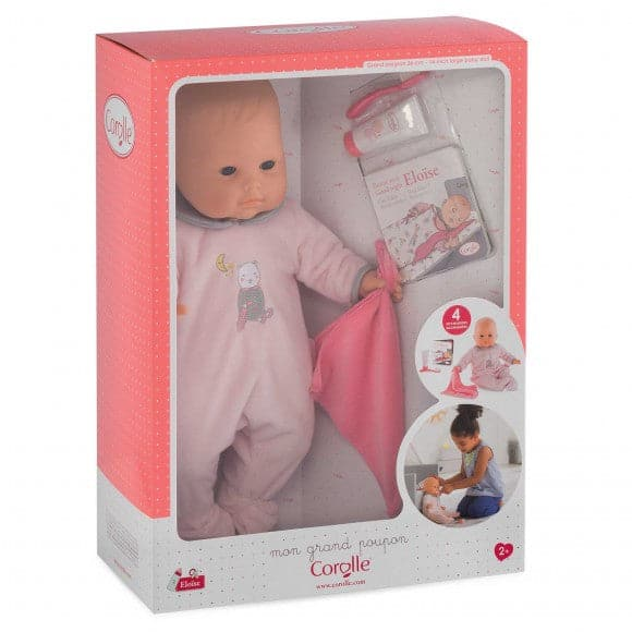 "Eloise Goes to Bed Set  - 14"" Doll"
