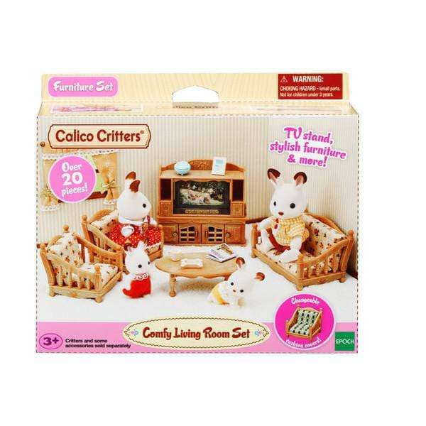 Calico Critters Comfy Living Room Set - Legacy Toys