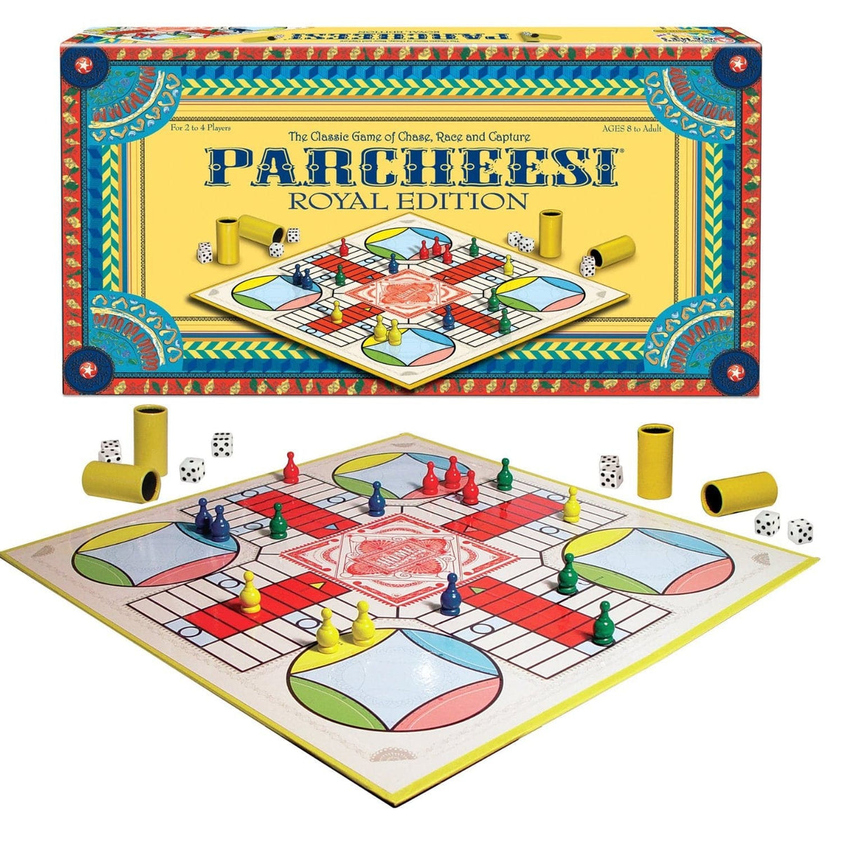 Winning Moves Parcheesi Royal Edition - Legacy Toys